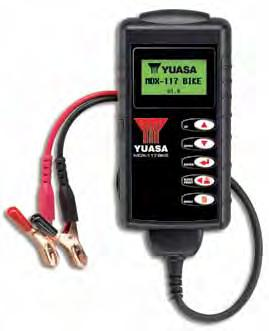 battery analysers ensure the most up-to-date and accurate test