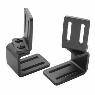 Laterals Lateral Brackets Slide Hardware (continued) Clamp Slide Release Bracket with Pad Mounting Bracket Quick and easy removal of laterals for transfers, as well as fore and aft adjustments.