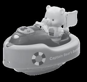 INTRODUCTION Thank you for purchasing the VTech Captain Bear s Bathtime learning toy! Set sail in the bath with the VTech Captain Bear s Bathtime!