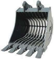 Compact Quick-Couplers Severe Duty Rock-Ripping Buckets Excavators 40,000 lbs. to 120,000 lbs.