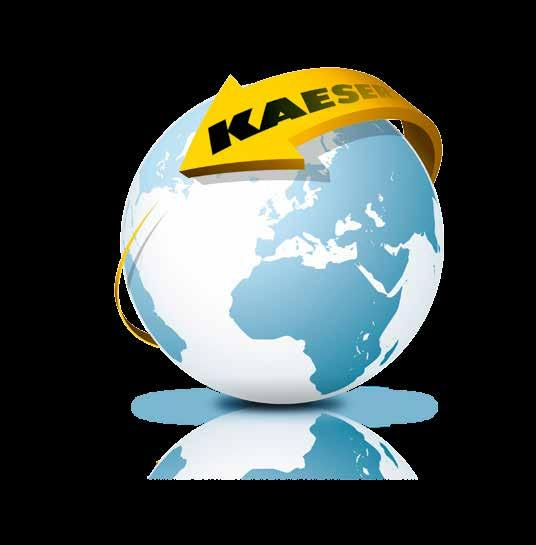 The world is our home As one of the world s largest compressed air systems providers and compressor manufacturers, KAESER KOMPRESSOREN is represented throughout the world by a comprehensive network
