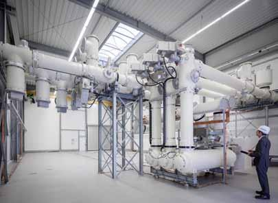 The Siemens gas-insulated switchgear (GIS) is an extremely successful product concept.