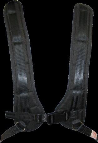 Commode 50/50 Pelvic strap - neoprene adjustable H-harness standard Padding : : Strap length mm XSmall 260 Small 350