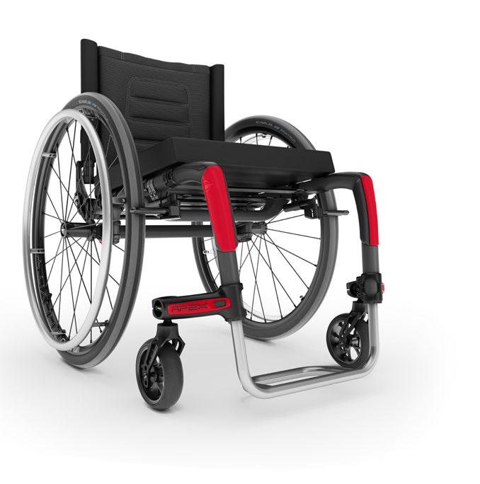 And, for the first time, the best fully adjustable fit you don t associate with carbon fiber. The lightest wheelchair in its class.