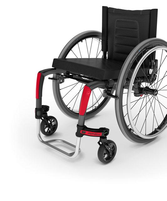 It s also the lightest configured adjustable chair in the industry.
