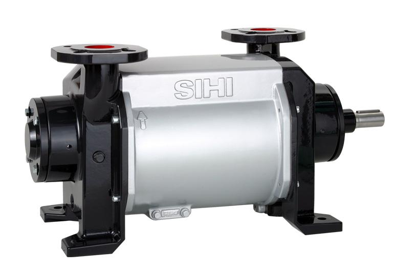 - Liquid Ring Vacuum Pump Two Stage LPH 45008, LPH 45311, LPH 45316 Pressure Range: Suction Volume: 33 to 1013 mbar 55 to 258 m³/h CONSTRUCTION Sterling SIHI liquid ring vacuum pumps have a simple