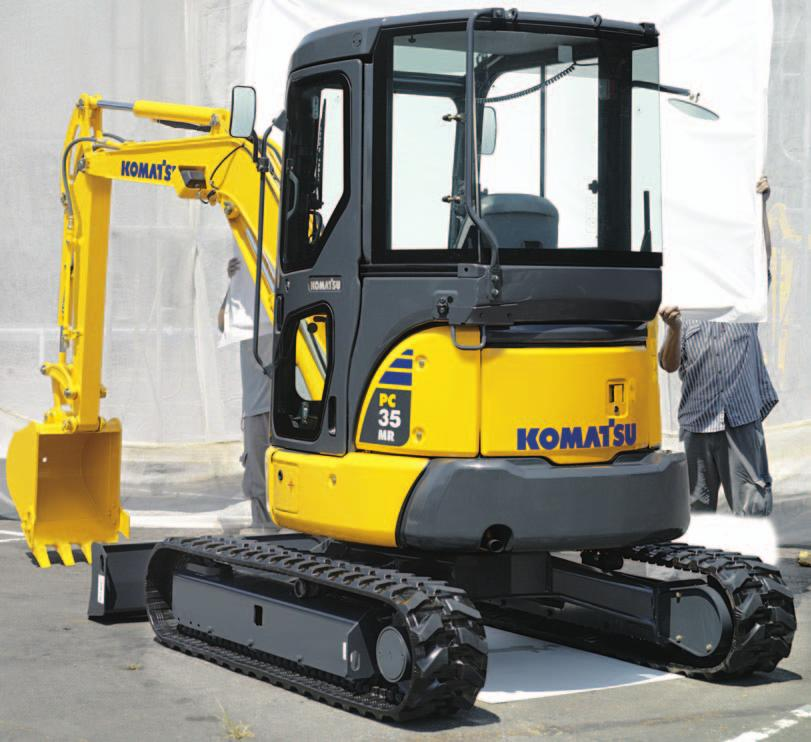 C OMPACT H YDRAULIC E XCAVATOR WALK-AROUND OPERATING WEIGHT,780 kg 3,20 lb 2,55 kg,750 lb 2,80 kg 6,3 lb 3, kg 6,20 lb 3,575 kg 7,880 lb,755 kg 0,80 lb 5,60 kg,380 lb Performance and Versatility