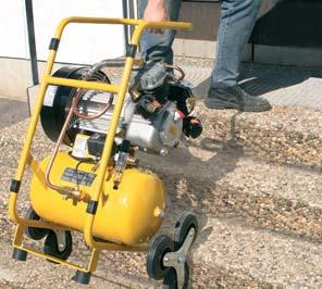 PREMIUM COMPACT compressors are ideal for applications such as stripping floor