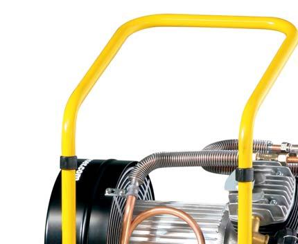7 / Ø 15 x 53 Blow frequency 300 per min In case with chisels and lubricator Compressed air hose PVC Fabric