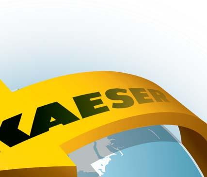 rotary screw compressors, KAESER KOMPRESSOREN is represented throughout the world