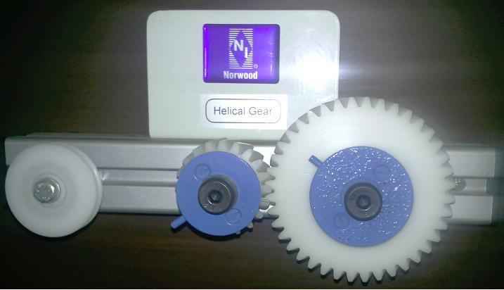 Helical Gear Drive Apparatus 1. To investigate a pair of helical gears; 2.