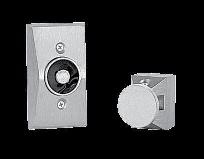 SEM7800 Series Holding Magnet 17 SEM7800 Series Heavy-Dut y, Door Holding Magne ts The Sentronic SEM 7800 Series are heavy duty, electrically controlled door holding magnets.