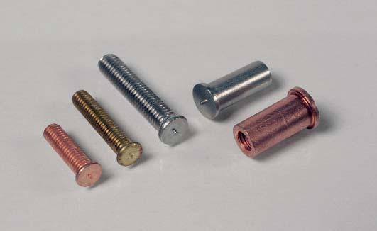 Fixing elements Clip-Pin insulation welding pins The combination of welding pin and safety disc enables the fixing of insulation on sheet metal in a single process.