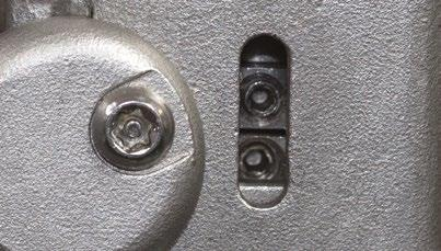 are considering (removing) the correct key a. Valve open, then right key should be removed b.