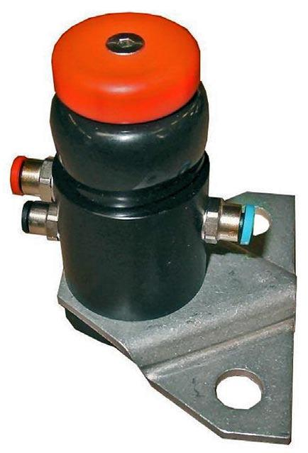 Product Data Sheet F0904 Emergency Shut Down Air Valve Features & Benefits Push and leave, simple and positive control. Remote emergency shut off. Red button clear indication as emergency device.