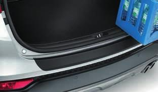 Keeps luggage out of sight and protected from the effects of direct sunlight. (Standard on 5-door models.