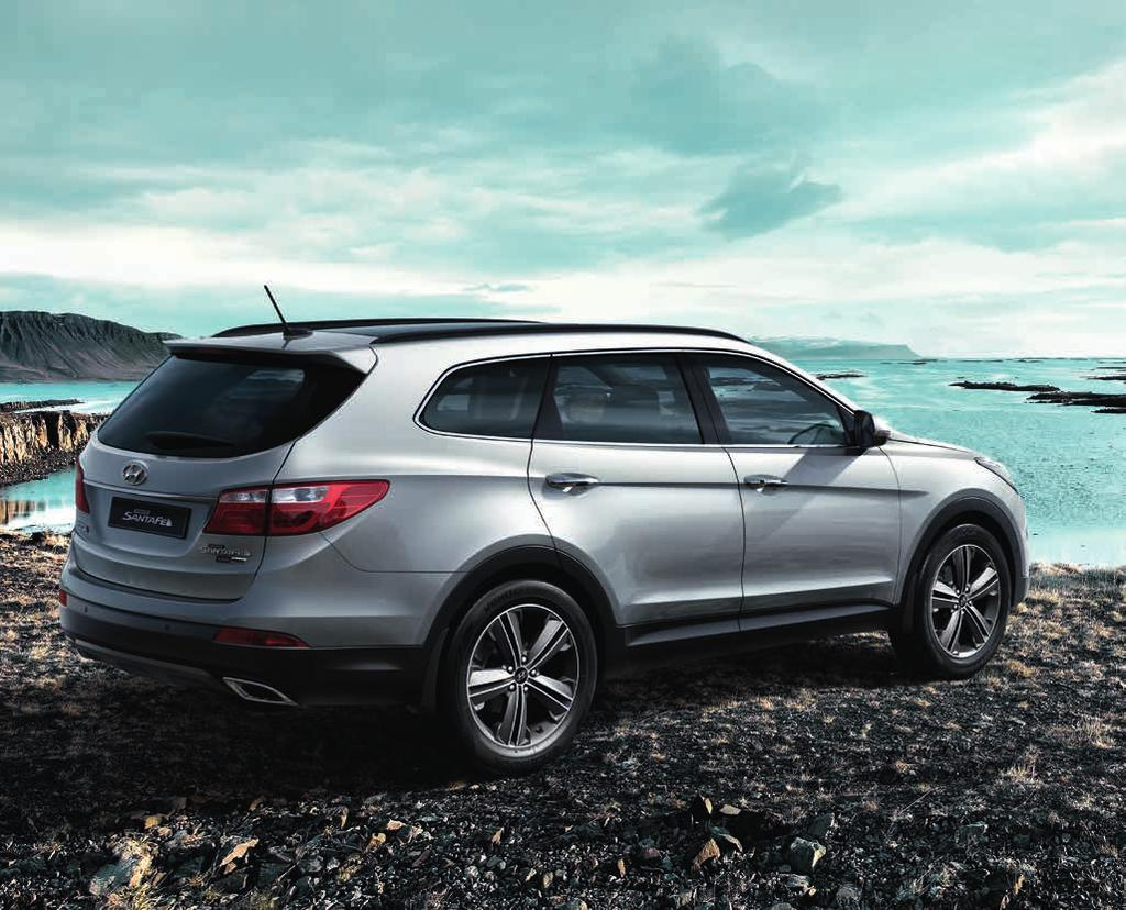 GRAND SANTA FE Your Inspiration. Your Grand Santa Fe. You ll be happy to know that most of the accessories in this brochure can also be easily fitted to Hyundai Grand Santa Fe.