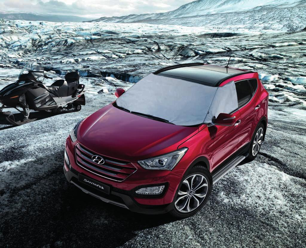 COMFORT Your Comfort. Your Santa Fe. With a cabin so roomy and luxurious, it s not easy to upgrade comfort levels.