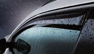 Protects the interior from extreme heat build-up in strong sunlight, and prevents ice forming on the windscreen and front