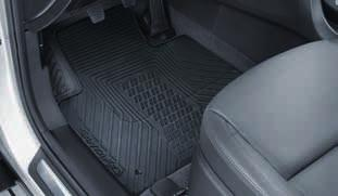 This durable, protective trunk liner can be installed and removed in seconds. Raised edges protect carpet and side trim from dirt and damp.