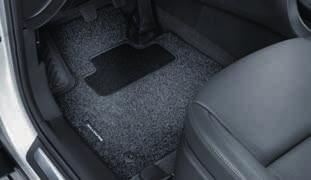 For extreme weather conditions, it is recommended to use the Hyundai Genuine all weather mats. Set of 4. 2W141ADE00 (LHD) (MY12, MY15) Textile floor mats, velour.