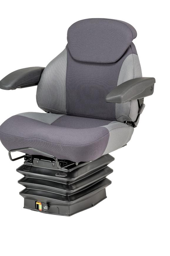 integral compressor KAB offers a wide range of durable suspension seats maintaining high quality and performance at an affordable