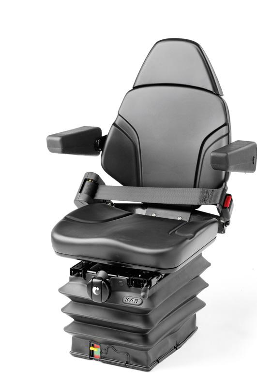 Armrests - Sliderails - Suspension Cover - Optional Backrest - PVC trim - Optional seat belt Mechanical 81/E6 - Mechanical 81