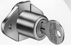 Minimum order and extended lead time may apply. 7/8 43/64 + 1/16 A + 1/32 1 27/64 (Standard Package of 10) ACE 5/16 18 THRD BOLT TYPE Five disc tumbler. Removable plug feature. Steel locking bolt.