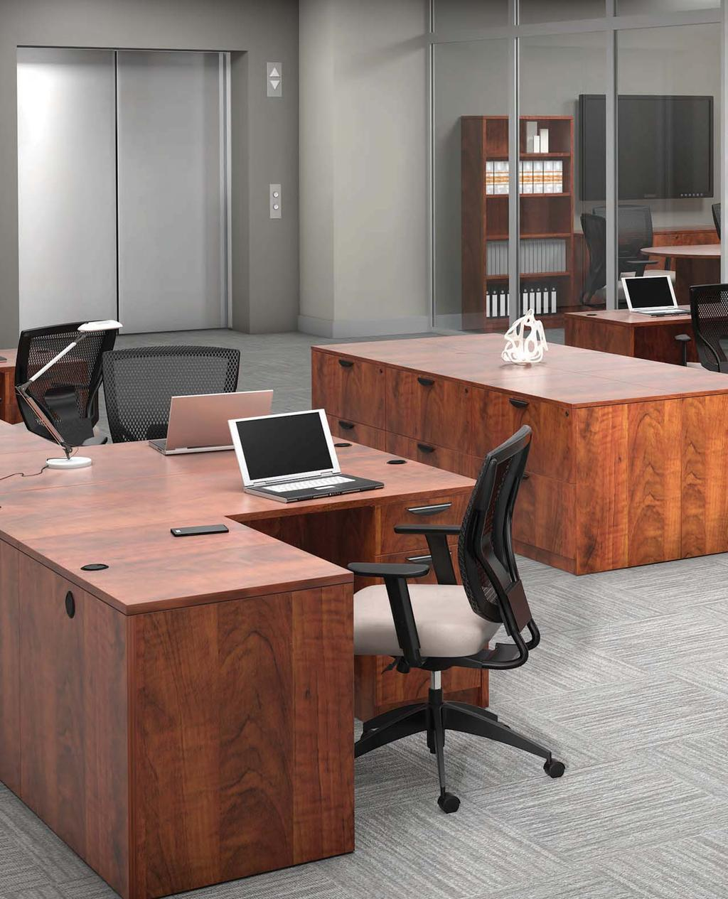 Affordable office furniture desks 888-442-8242 8242 GREENGUARD INDOOR AIR QUALITY CERTIFICATION All Offices To Go Superior Laminate Desking is in compliance with stringent emission guidelines set out