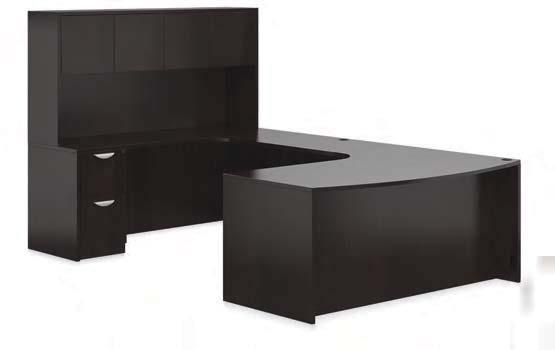 SL7148BCL Bow Front with Corner Extension $590 SL7136CER Credenza with Corner Extension $466 SL3624FB 36 Flush Bridge
