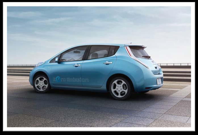 Nissan Leaf 100% Electric Vehicle $20,280 with federal and state