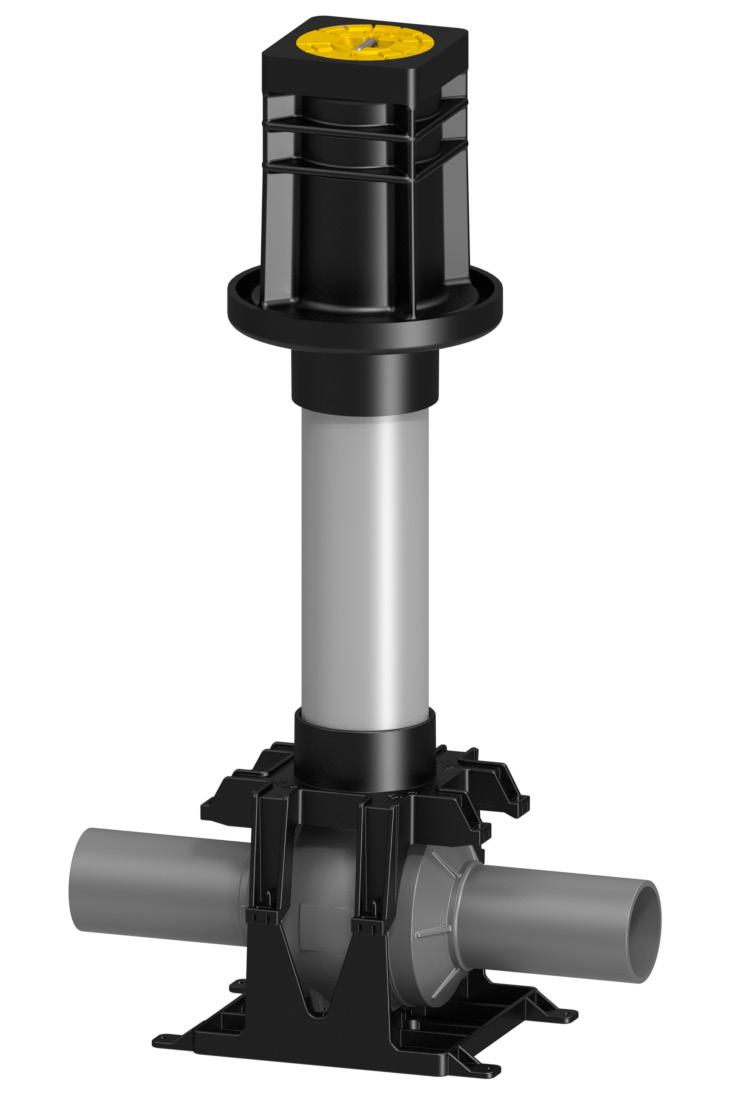 6 spigot ends. The valves are UNIVERSAL, meaning the same valve can be used for multiple application areas. The selected materials are tested and approved for both GAS and WATER applications.