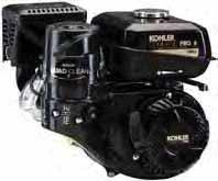 Engines Horizontal Engines Specs CH270 CH395 CH440 Gross Power @ 3600 rpm 7 hp (5.2 kw) 9.5 hp (7.1 kw) 14 hp (10.5 kw) Net Power @ 3600 rpm 6 hp (4.5 kw) 8.5 hp (6.4 kw) 12.1 hp (9.