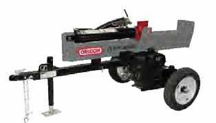 Engine: Kohler, Honda Log Capacity: 26 Working Height: 31.5 (approved up to 45 MPH) Weight: 595 lbs.