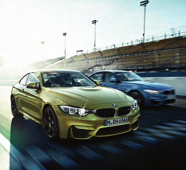 The new BMW M3 Saloon and M4 Coupé The Ultimate Driving Machine
