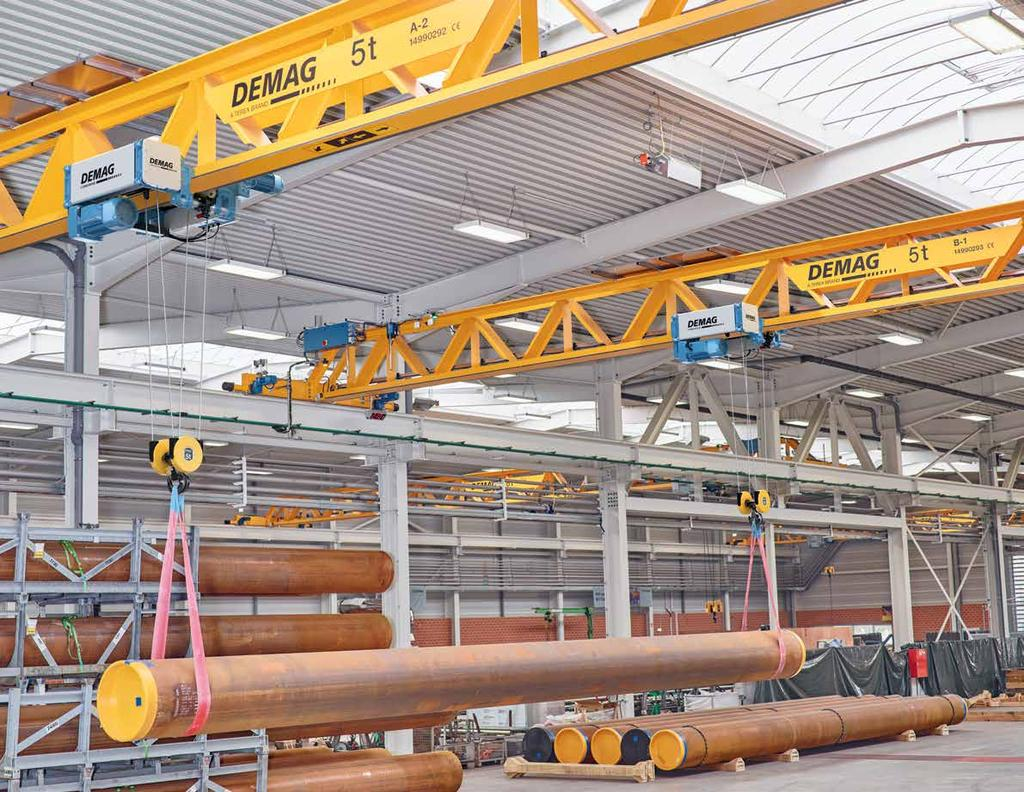 Terex Material Handling Terex MHPS Corp. is one of the world s leading suppliers of crane technology with Demag industrial cranes and crane components.