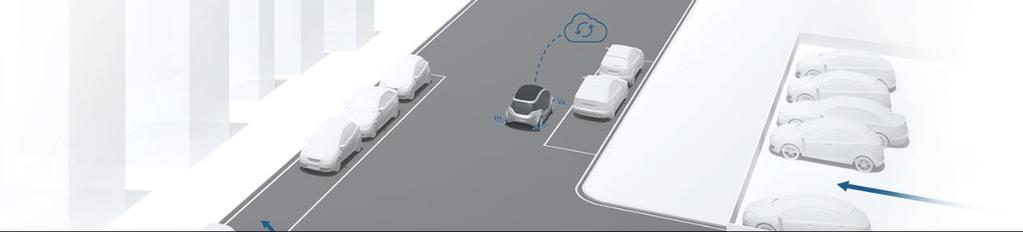Bosch Mobility Solutions A new parking experience with automated and connected parking solutions For the future of parking, Bosch