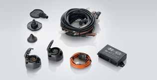 +15 extension wiring kit stops your caravan's electrical appliances from draining the vehicle battery when the engine is turned off.