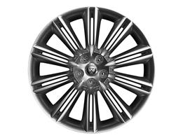 "R-SPORT XJR575 ALLOY WHEELS AND WHEEL OPTIONS CODE RETAIL PRICE 18"" 10 Spoke 'Style 1030' C45B 18"" 16 Spoke 'Style 1031' C51S 19"" 10 Spoke 'Style 1028' C45C 19"" 5 Split-Spoke 'Style 5043'"