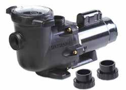 HAYWARD PUMPS & PARTS Hayward HCP 2000 (Tristar) Pumps These are very efficient pumps with all-plastic construction. The strainer lid is clear, and comes off by hand.