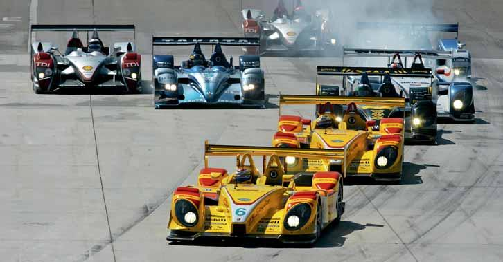 Page 44 Detroit, Michigan Great feeling Pure excitement on the streets of Motor City: three laps before the finish, Dumas manages to move to the inside to pass the Audi R10 leading the pack and goes