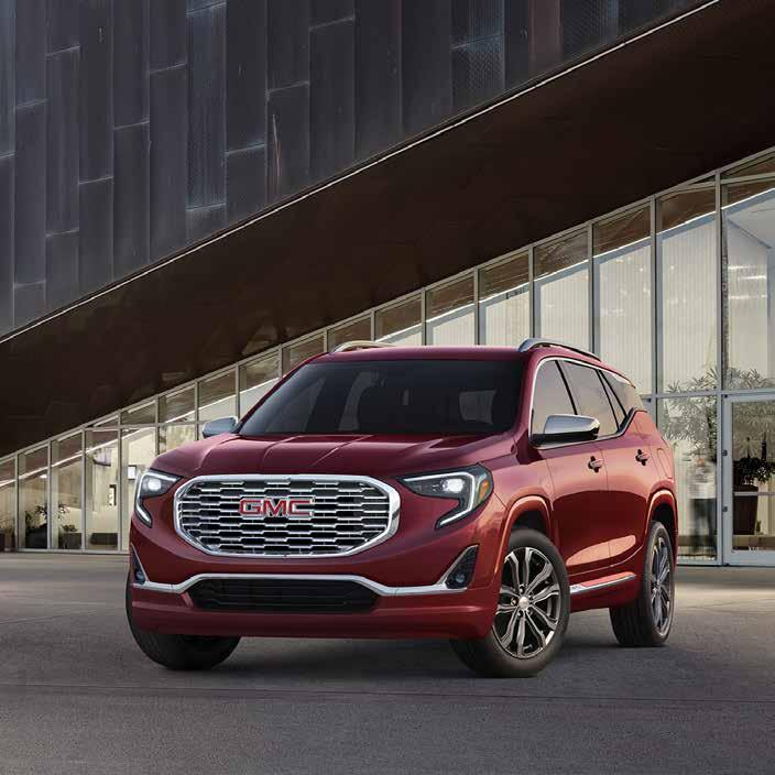 THE NEW STANDARD OF PROFESSIONAL GRADE. As a leader in innovation, GMC once again lives up to its reputation with the introduction of the all-new 2018 GMC Terrain.