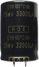 Aluminum Capacitors Standard - 105 C Snap-In FEATURES Useful life: 2000 h at +105 C Polarized aluminum electrolytic capacitors Small dimensions High C x U product Material categorization: for