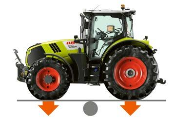 CLAAS tractor concept for greater flexibility. Construction Smart ideas throughout.
