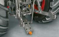 clevis, pickup hitch, CUNA The main rear linkage functions are directly accessed via