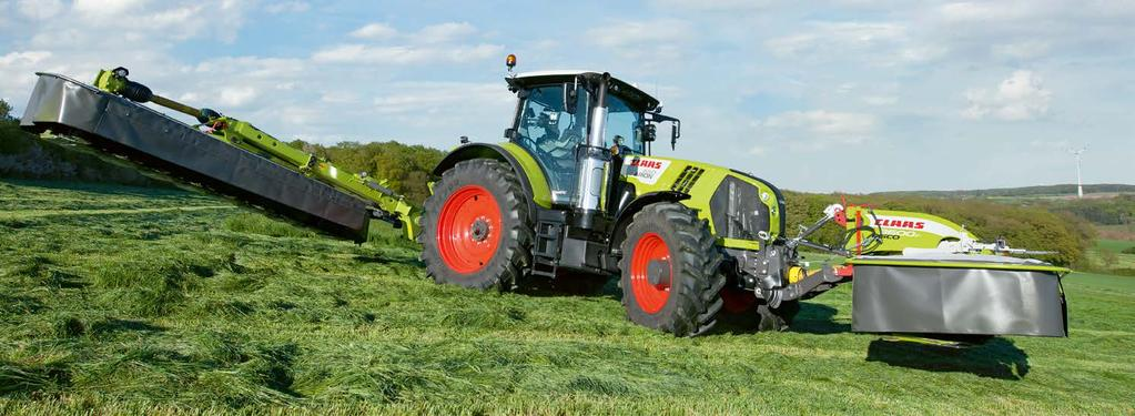 Precision at the headland with CSM. CSM headland management CLAAS SEQUENCE MANAGEMENT. CSM headland management takes the load off you whenever you need to manoeuvre at the headland.