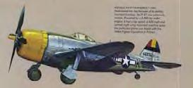 Republic P-47 Thunderbolt Reduced Aileron Effect Due to Aeroelasticity Wing
