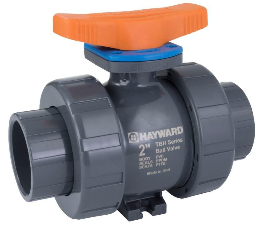 HAYWARD FLOW CONTROL TBH SERIES TRUE UNION BALL VALVE