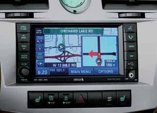 ipod music file navigation is maintained by the ipod click wheel. 7. GARMIN NAVIGATION SYSTEMS GARMIN nüvi 1250. This GPS system features a thin 3.