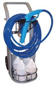 Automatic Metering Pump R13401 Foaming Applications Airless Foam-Rinse-Sanitize System Convenient, portable cleaning and sanitizing system that lets you quickly switch from Foam to Sanitize to Rinse